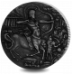 Mythical Creatures: Centaur - 2018 2oz Proof Fine Silver High Relief with Antique Finish Coin