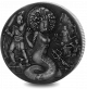 Mythical Creatures: Medusa - 2018 2oz Proof Fine Silver High Relief with Antique Finish Coin