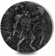 Mythical Creatures: Minotaur - 2018 2oz Proof Fine Silver High Relief with Antique Finish Coin
