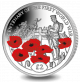 Centenary of the First World War: Tomb of the Unknown Soldier - 2018 Proof Sterling Silver Coloured Coin