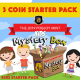 2019 Kids Mystery Box - 3 Coin Starter Pack