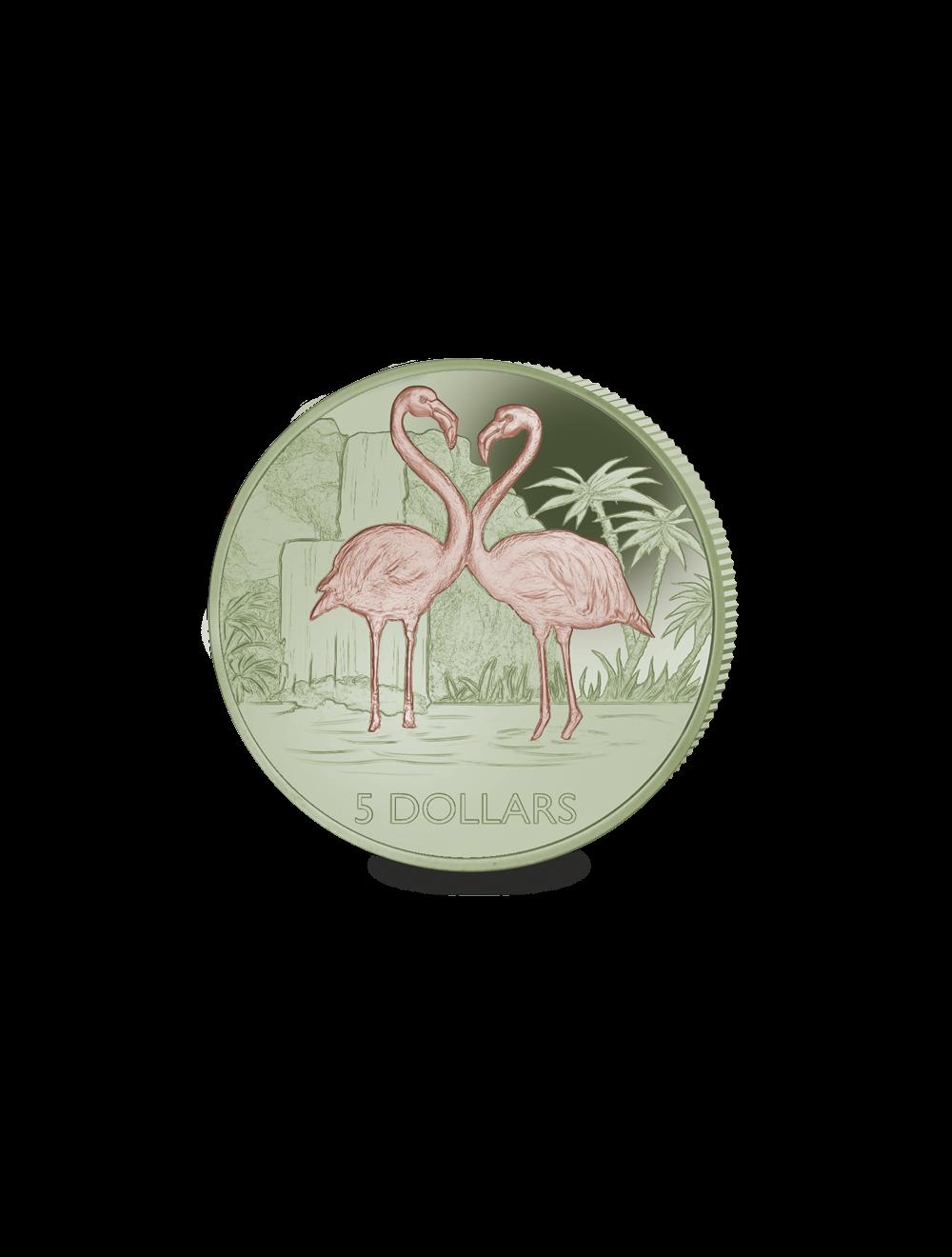 Flamingo Appears On Pobjoy S New Bi Coloured 11