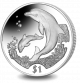 British Virgin Islands 2005 - The Dolphin - Uncirculated Cupro Nickel Coin
