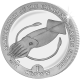 Falkland Islands 2007 - Anniversary of the Fisheries Conservation Zone - Cupro Nickel Coin
