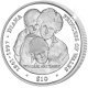 Sierra Leone 2007 - Commemorating Diana Princess of Wales with William and Harry - Cupro Nickel Coin