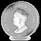 Queen Elizabeth II Sapphire Jubilee: Incuse Portrait - 2017 Unc. Cupro Nickel Coin