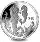 Seahorse - 2017 Proof Sterling Silver Coin