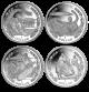 2020 Tokyo Summer Olympics - 2020 Unc. Cupro Nickel 4 Coin Set - BVI