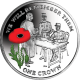 Ascension Island 2014 - Centenary of World War I: Signing of the Armistice- Coloured Sterling Silver