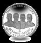 The Golden Knights: Bahamas Olympic Winners - 2016 Unc. Cupro Nickel