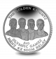 The Golden Knights: Bahamas Olympic Winners - 2016 Proof Sterling Silver