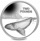 Southern Right Whale - 2017 Proof Sterling Silver Coin