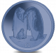 The Emperor Penguin - 2019 Blue Titanium Coin