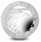 15th Anniversary of the Collapse of Larsen B Ice Shelf - 2017 Proof Sterling Silver with Hologram
