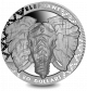 Big 5: Elephant - 2019 Proof Fine Silver High Relief Coin