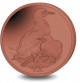 Red Footed Booby - 2019 Red Titanium Coin