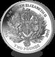 Queen Elizabeth II Sapphire Jubilee: Royal Crest - 2017 Proof Sterling Silver Coin
