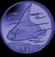 The Manta Ray - 2018 Blue Titanium Coin