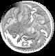 Warrior and Dragon - 2019 Unc. Cupro Nickel Coin
