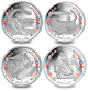 2020 Tokyo Summer Olympics - 4 Coin Set - 2019 Coloured Uncirculated Cupro Nickel