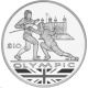 British Virgin Islands 2012 - Olympic Collection: Fencing - Proof Sterling Silver Coin