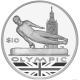 British Virgin Islands 2012 - Olympic Collection: Gymnast - Proof Sterling Silver Coin