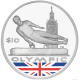 British Virgin Islands 2012 - Olympic Collection: Gymnast - Coloured Proof Sterling Silver Coin