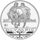 British Virgin Islands 2012 - Olympic Collection: Football - Uncirculated Cupro Nickel Coin