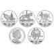British Virgin Islands 2012 - Olympic Collection: Uncirculated Cupro Nickel 4 Coin Set