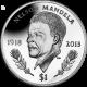 British Virgin Islands 2014 - Nelson Mandela Commemorated - Uncirculated Cupro Nickel Coin