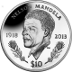 British Virgin Islands 2014 - Nelson Mandela Commemorated - Proof Sterling Silver Coin