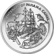 British Virgin Islands 2014 - Centenary of the Panama Canal - Proof Sterling Silver Coin