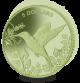 Hummingbird - 2017 Green Titanium Coin