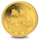Special Edition 1/2 Gram Gold Proof Coin - Commemorating 400 Years of the Mayflower