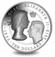 Queen Elizabeth II Sapphire Coronation: Two Portraits - Proof Fine Silver Ultra High Relief Incused Coin