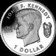British Virgin Islands 2013 - 50th Anniversary of John F Kennedy - Uncirculated Cupro Nickel Coin