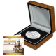 The Mayflower - 2020 Proof Fine Silver 1oz Piedfort (2oz total) Ultra High Relief