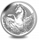 Pegasus - 2018 Reverse Frosted Silver Bullion
