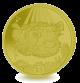 Porcupine Fish - 2019 Golden Yellow Titanium Coin