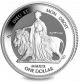 Bicentenary of Queen Victoria: Una and the Lion - 2019 Reverse Frosted Silver Bullion