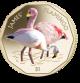 Flamingos Series: James Flamingo - 2019 Coloured Virenium Coin