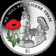 British Virgin Islands 2014 - Centenary of World War I: Nurse Edith Cavell - Coloured Cupro Nickel