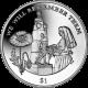 British Virgin Islands 2014 - Centenary of World War I: Nurse Edith Cavell - Cupro Nickel Coin