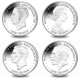 Centenary of House of Windsor - 2017 Proof Sterling Silver Coin - 4 Coin Set