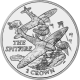 Falkland Islands 2008 - 70th Anniversary of the Spitfire - Uncirculated Cupro Nickel Coin