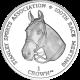 Falkland Islands 2012 - 100th Race Meeting - Uncirculated Cupro Nickel Coin