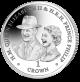 70 Years of HM Queen Elizabeth II and HRH Prince Philip: Goodwood Races Portrait - 2017 Cupro Nickel