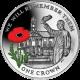 Falkland Islands 2014 - Centenary of World War I: Royal Chelsea Hospital - Coloured Sterling Silver