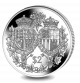 Platinum Wedding Anniversary: Coat of Arms - 2017 Proof Sterling Silver