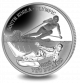 Winter Olympics South Korea: Snow Sports  - 2017 Proof Sterling Silver Coin